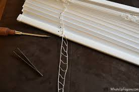Louver Blinds Repair The Ridiculously Easy Way To Fix Broken Mini Blinds
