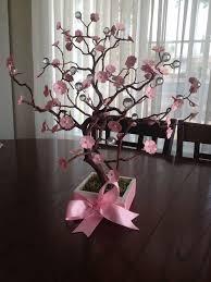 cherry blossom decor cherry blossom centerpieces for baby shower quinceañera wedding