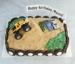 easy monster truck birthday cake endlessly inspired