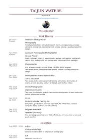 copies of resumes freelance photographer resume samples visualcv resume samples