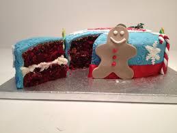 christmas cake sugarcraft decorating class kids cook
