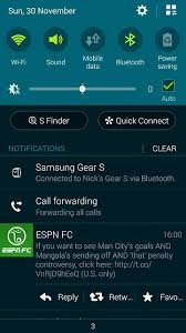 android call forwarding is it normal for call forwarding to be in notification center