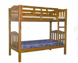 Bunk Bed Adelaide Bunk Bed Chestnut King Single