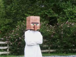 Minecraft Halloween Costumes Minecraft Villager Costume Holiday Halloween U0026 Thanksgiving