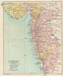 Bombay India Map by The Digital South Asia Library