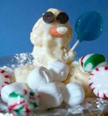 kitchen kids homemade edible snowballs make an ice cream snowman