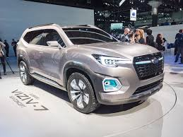subaru concept cars subaru viziv 7 concept new midsize suv for 2018 kelley blue book