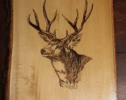wood burning deer patterns patterns kid