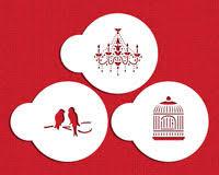 Chandelier Stencils Love U0026 Valentine U0027s Cookie U0026 Candy Stencils