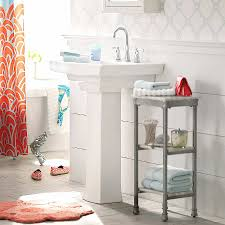 sink storage ideas bathroom bathroom storage inspirational bathroom storage pedestal sink