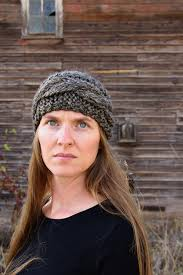 knit headbands cable headband free knitting pattern brome fields