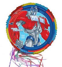 optimus prime pinata transformers optimus prime pinata party balloons celebrations