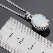 earrings for sensitive ears australia australia white opal stones silver color jewelry sets for women