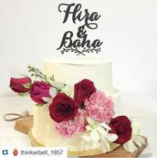 wedding cake murah cake topper by akudankraf make your cake looks beautiful