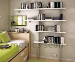 Interior Paint Ideas For Small Homes Bedroom Kid Bed With Bedding And Floating Shelves Also Interior