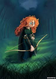 princess merida brave kroizat deviantart