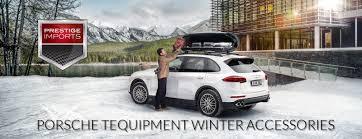Porsche Cayenne Accessories - porsche tequipment winter accessories at prestige imports