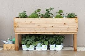 planter box designs how to build an elevated wooden planter box