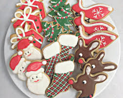 handcrafted cookies by sugarandflour on etsy