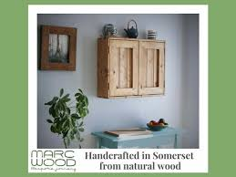 cheap kitchen wall cupboards uk kitchen wall cabinet cupboard in wood with 2 doors 3 storage shelves modern rustic farmhouse custom handmade in somerset uk