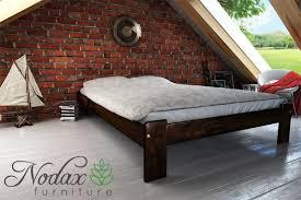 king size wooden bed frame uk size