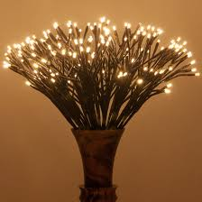 brown starburst led lighted branches warm white twinkle lights 1