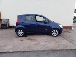 used vauxhall agila hatchback 1 2 i 16v design 5dr a c in