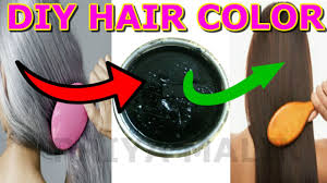 turn white hair to black permanently with homemade hair color dye