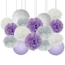 purple elephant baby shower decorations purple and grey elephant baby shower party favors