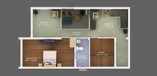stylist and luxury 600 sq ft duplex house plans in chennai 5