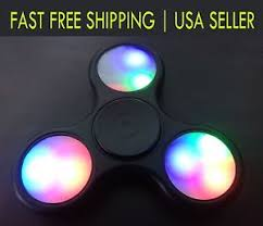 a light up fidget spinner led fidget spinner gp6 shop light up spinners glowing 9 free amazon