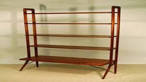 modern bookshelf latest modern industrial suspended walnut