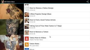 tattoo designs mobile app for android devices youtube