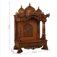 home mandir decoration big wooden temple for home decoration