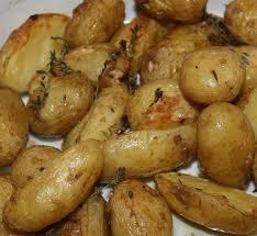 pommes de terre de noimoutier au four primeur au menu delice