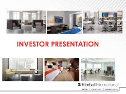 kimball international kbal presents at midwest ideas investor
