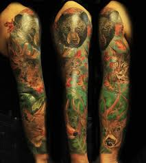 wildlife sleeve designs ideas and meaning tattoos for you