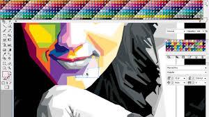 tutorial wpap photoshop 7 tutorial proses colour wpap katy perry adobe illustrator youtube