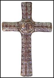 Cross Wall Decor by Decorative Christian Cross Wall Decor Metal Cross Wall Hanging