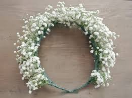 Fake Baby S Breath Flower Crowns Are Not Just For Flower Girls Anymore Description