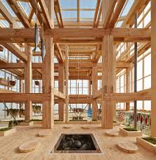 Nursing Home Design Concepts Kengo Kuma U0026 Associates Office Archdaily