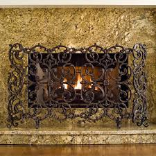 Fireplace Metal Screen by Iron Fireplace Screen Frontgate
