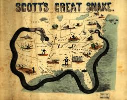 Confederate States Map by The Anaconda Campaign Was General Scott U0027s Plan To Defeat The