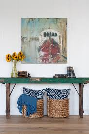 Green Console Table The Lilypad Cottage