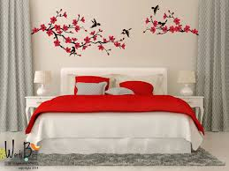 Stickers For Walls In Bedrooms by Cherry Blossom Branch Wall Decal With Birds By Wordybirdstudios