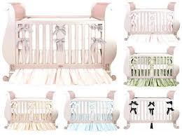 Silk Crib Bedding Set Baby Luxury Bedding Mesmerizing Baby Bedding Sets With Additional