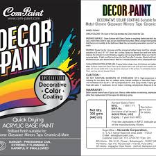 product label design for aerosol spray paint can product label