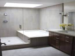 simple freestanding tub bathroom layout on small home remodel