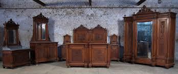 Schlafzimmerschrank Um 1900 Komplettes 7 Teiliges Berliner Gründerzeit Schlafzimmer Antik