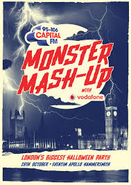 halloween monster ball capital u0027s monster mash up london lineup capital